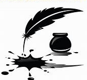 spilled ink